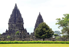 Prambanan Temple Indonesia Royalty Free Stock Photography