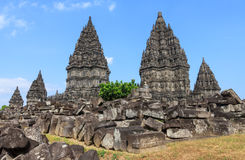 Prambanan temple,Indonesia Royalty Free Stock Photo