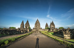 Prambanan Temple Indonesian tourist spots Stock Photo