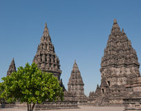 Prambanan temple, Java, Indonesia Stock Image