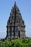 Prambanan Temple in Java, Indonesia Royalty Free Stock Photography