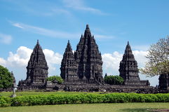 Prambanan temple on Java island, Indonesia Royalty Free Stock Image