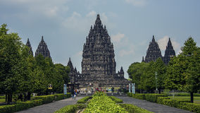 Prambanan temple in Java Royalty Free Stock Photo