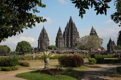 Prambanan Temple near Yogyakarta, Central Java, Indonesia. Stock Photo