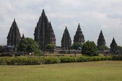 Prambanan Temple near Yogyakarta, Central Java, Indonesia. Royalty Free Stock Photography