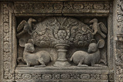 Prambanan Temple near Yogyakarta, Central Java, Indonesia. Stock Images