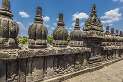 Prambanan temple near Yogyakarta on Java island, Indonesia Stock Photography