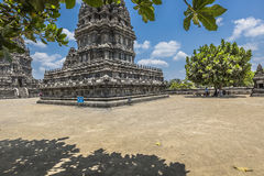 Prambanan temple near Yogyakarta on Java island, Indonesia Royalty Free Stock Images