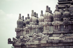 Prambanan temple near Yogyakarta on Java island, Indonesia Royalty Free Stock Photo