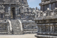 Prambanan temple near Yogyakarta on Java island, Indonesia Royalty Free Stock Photography