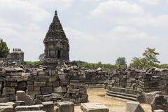 Prambanan temple near Yogyakarta on Java island, Indonesia.  Stock Photography