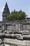Prambanan temple near Yogyakarta on Java island, Indonesia.  Stock Image