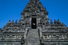 Prambanan Temple. At Sleman Yogyakarta Central Java Royalty Free Stock Photos