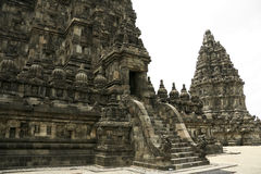 Prambanan temple ruins java indonesia Royalty Free Stock Photos