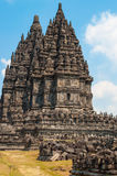 Prambanan temple site Stock Photography