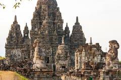 Prambanan temple, Yogjakarta, Indonesia Stock Images