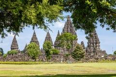 Prambanan temple, Yogyakarta, Java, Indonesia Stock Photos