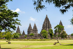 Prambanan temple, Yogyakarta, Java, Indonesia Royalty Free Stock Photo