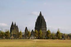 Prambanan temple in Yogyakarta Royalty Free Stock Images