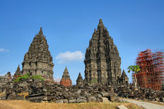 Prambanan temple in Yogyakarta Stock Photo