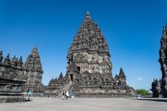 Prambanan temple. In Yogyakatar Indonesia Royalty Free Stock Images