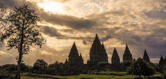 Prambanan, Yogyakarta, Ява, Индонезия стоковая фотография