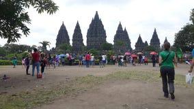 Prambanan Yogyakarta Indonésie Photos stock
