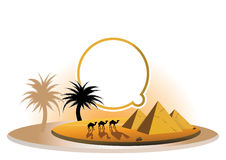Pramit and camels Royalty Free Stock Photo