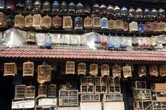 Pramuka-Vogelmarkt, Jakarta Stockfotografie