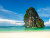 Pranang beach. Krabi, Thailand Stock Photography