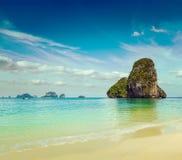 Pranang beach. Krabi, Thailand Stock Image