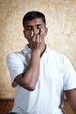 Pranayama do suddhi do nadi da ioga Imagem de Stock