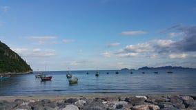 Pranburi,泰国 免版税库存照片