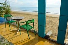 Pranburi beach is in Prachuabkirikhan Stock Photo