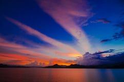 Pranburi dam Thailand Royalty Free Stock Images