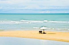Pranburi Strand, Thailand lizenzfreies stockbild
