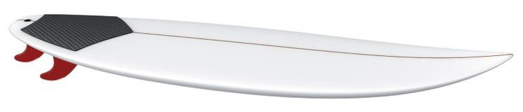 Prancha curto vazia de Shortboard Imagem de Stock Royalty Free