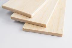 Prancha da madeira de balsa Fotos de Stock Royalty Free