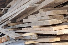 Prancha de madeira Gray Texture Background Perspective, XXXL imagem de stock royalty free