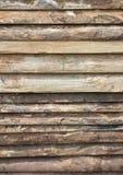 Pranchas da madeira como o fundo de madeira Imagens de Stock Royalty Free