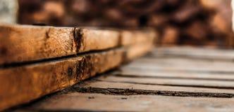 Pranchas de madeira Imagens de Stock Royalty Free