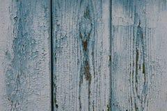 Pranchas de madeira azuis Imagens de Stock