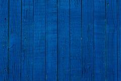 Pranchas de madeira azuis Fotografia de Stock Royalty Free