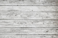 Pranchas de madeira brancas Foto de Stock
