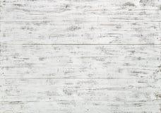 Pranchas de madeira brancas Imagens de Stock