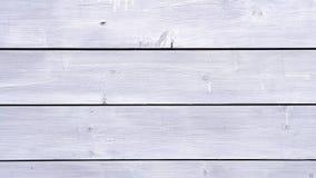 Pranchas de madeira brancas Fotos de Stock Royalty Free