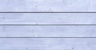 Pranchas de madeira brancas Fotos de Stock