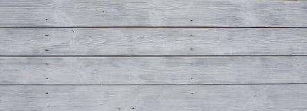 Pranchas de madeira brancas Foto de Stock Royalty Free