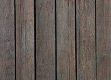 Pranchas de madeira de Brown Fotografia de Stock