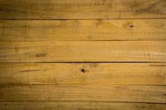 Pranchas de madeira colocadas no fundo Imagens de Stock